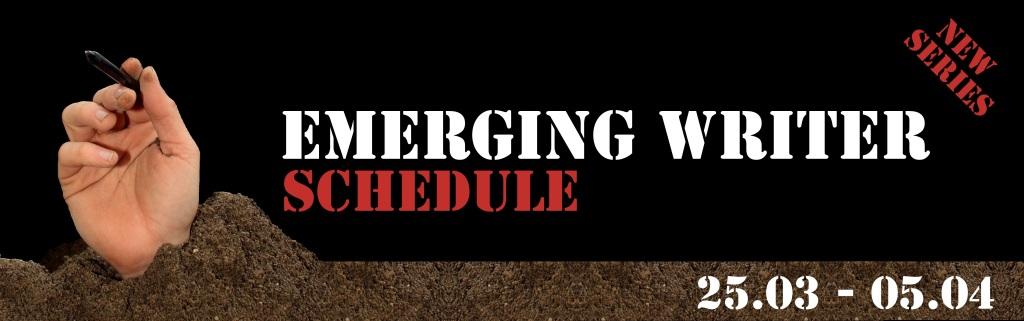 Emerging Writer Schedule